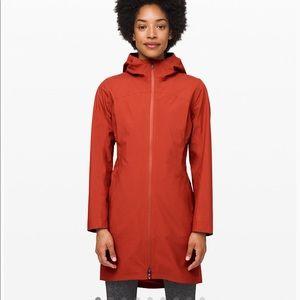NWT Lululemon Rain Rebel Jacket